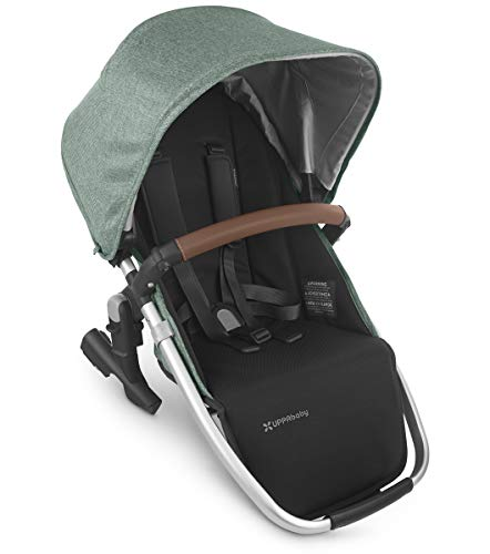 UPPAbaby RumbleSeat V2 - Emmett (Green Melange/Silver/Saddle Leather)