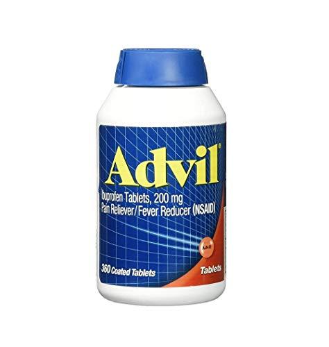 Advil Tablets, 200mg - 1 Pack (360 Tablets Each ) VCBD