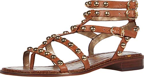 Sam Edelman Women's Eavan Gladiator Sandal, Spiced Clay, 8.5