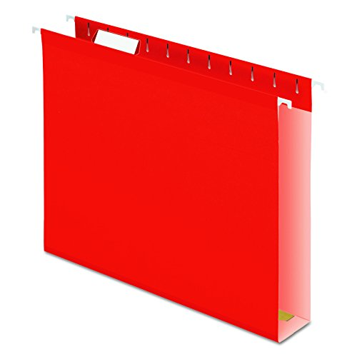 Pendaflex 04152X2 RED Extra Capacity Reinforced Hanging Folders
