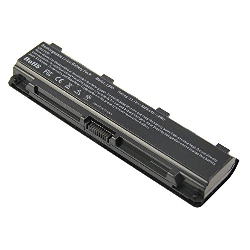 PA5121U-1BRS Replace Battery for Toshiba Satellite L875D-S7232 L875D-S7332 L875D-S7342 L875D-S7343 P875-S7200, P875-S7310 PA5121U-1BRS
