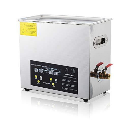 Ultrasonic Carburetor Cleaner 6.5L Digital Timer Heater Commerical Ultrasonic Parts Cleaner