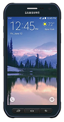 Samsung Galaxy S6 Active G890A 32GB 16MP Camera Unlocked GSM 4G LTE Octa-Core Smartphone, Blue