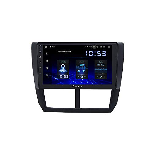 Dasaita 9' Android 10.0 Car Stereo Head Unit with 4G RAM 64G ROM for Subaru Forester XT Impreza WRX 2008 2009 2010 2011 2012 Radio Touch Screen GPS Navigation Dash Built in DSP Bluetooth -compatible