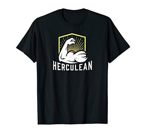 Herculean Muscle Graphic T-Shirt