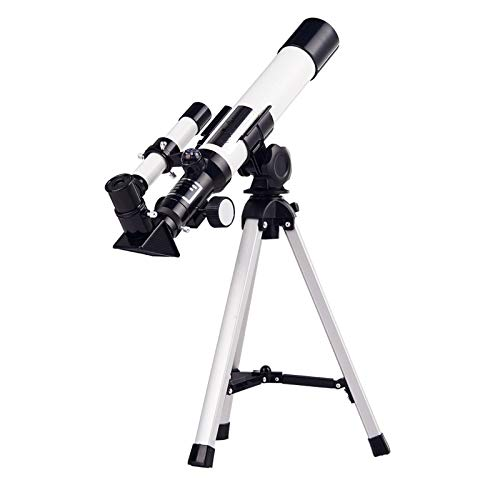 Telescope Astronomy for Adults Kids - Astronomy Refractor Telescope with Adjustable Tripod, HD Zoom Monocular Space Astronomical Spotting Scope for Kids and Beginner