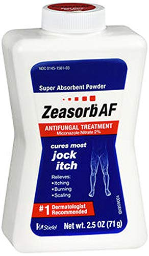 Zeasorb AF Antifungal Treatment Super Absorbent Powder - 2.5 oz