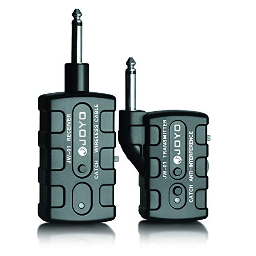 JOYO JW-01 1.2Ghz Wireless Guitar System Guitar Transmitter Receiver for Electric Guitar Bass Support One Transmitter to Many Amplifiers