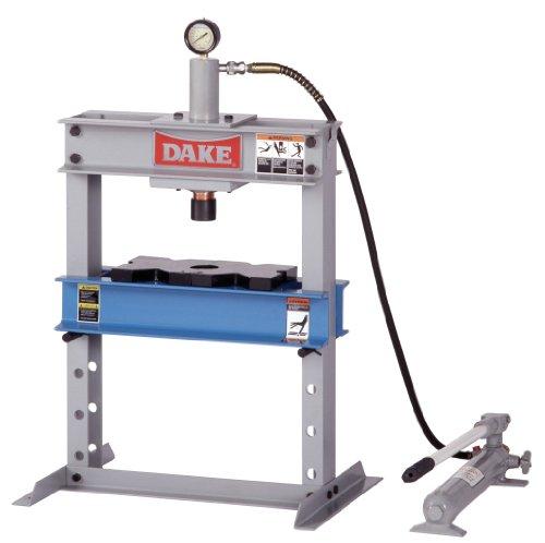 Dake B-10 Model Manual Utility Hydraulic Bench Press, 10 Ton Capacity, 23' Length x 18' Width x 36' Height