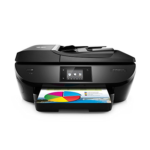 HP OfficeJet 5740 Wireless All-in-One Photo Printer with Mobile Printing, Instant Ink Ready (B9S76A) (Renewed)