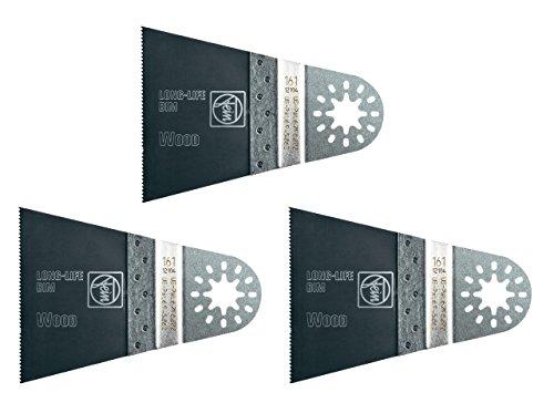 Fein 63502161020 Long Life E-Cut 161 Blade (3 Pack)