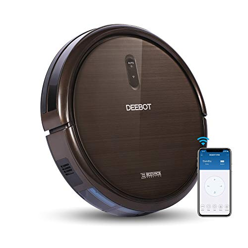 ECOVACS DEEBOT N79S Robot Vacuum Cleaner with Max Power Suction, Alexa Connectivity, App Controls, Self-Charging for Hard Surface Floors & Thin Carpets (Renewed)