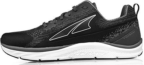 ALTRA Men's Torin 4 Plush Road Running Shoe, Black/Gray - 11 M US
