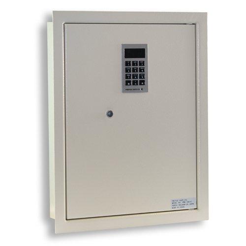 Protex PWS-1814E Electronic Keypad Wall Safe, 5.25',Beige