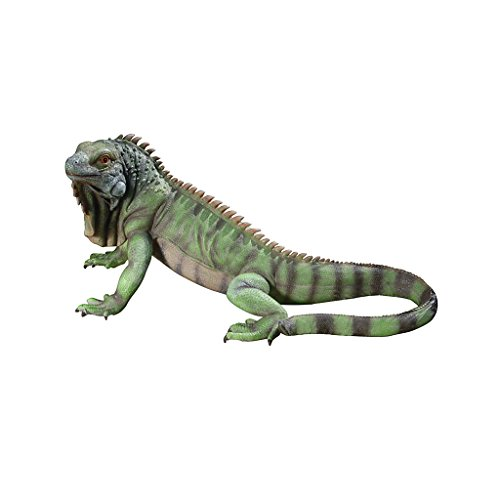 Design Toscano QL56991 Iggy The Iguana Garden Statue, 22 Inch, Large, Full Color