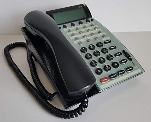 NEC DTU-16D-2(BK) TEL 770032 - NEC Electra Elite DTU-16D-2 Black Display Speaker Phone (Renewed)