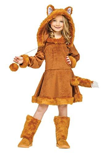 Sweet Girls Fox Costume Small