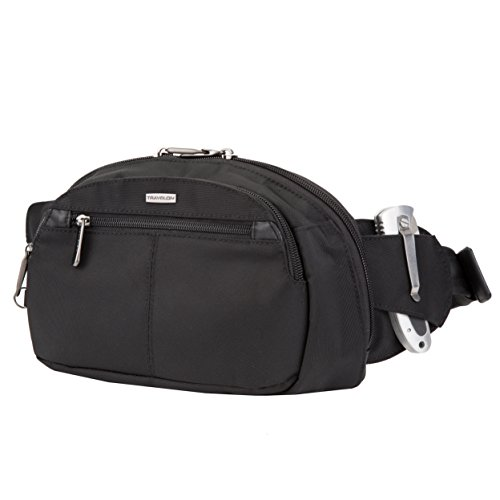 Travelon Anti-Theft Concealed Carry Waist Pack, Black, One Size