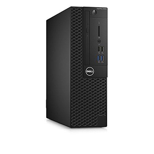 Dell OptiPlex Small Form Factor Business Desktop PC, Intel i5-7500 Quad-Core 3.4 GHz Processor, 8GB DDR4, Ethernet, DVD±RW, Display Port/HDMI, Windows 10 Pro (SFF 256GB SSD)