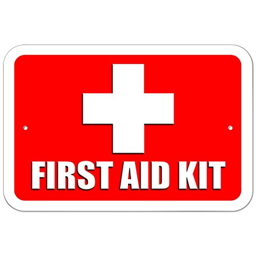 Graphics and More Plastic Sign First Aid Kit - 6' x 9' (15.3cm x 22.9cm)