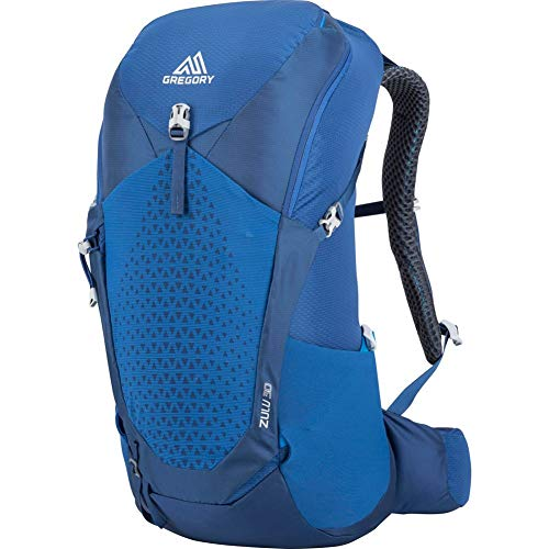 Gregory Mountain Products Zulu 30 Liter Men's Hiking Daypack, Empire Blue, Medium/Large