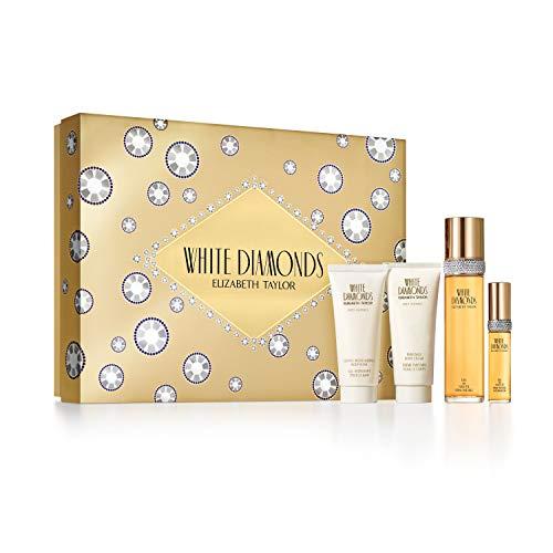 Elizabeth Taylor Ladies Gift Set (Includes 3.3oz Eau De Parfume, Body Lotion, Body Wash, Eau De Toilette Spray)