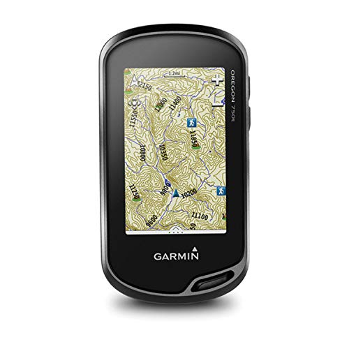 Garmin Oregon 750T, Touchscreen Handheld GPS with GPS/GLONASS, Camera and TOPO, 3-inch Display, One Color (010-01672-30)