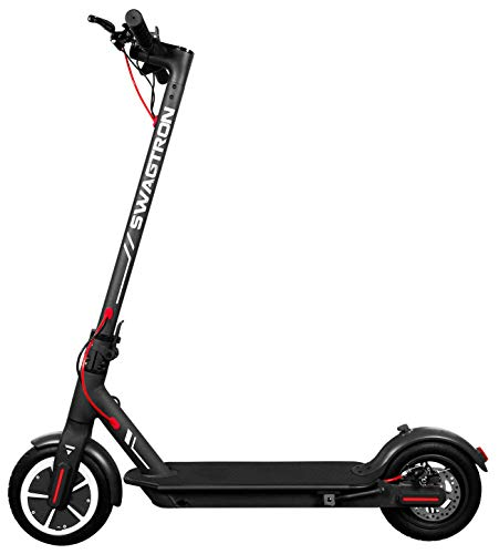"""Swagger 5 T High Speed Electric Scooter for Adults with 8.5"""" Tires, Cruise Control and 1-Step Portable Folding"""