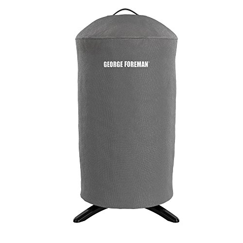 George Foreman GFA0240RDCG Round Grill Cover, Gray