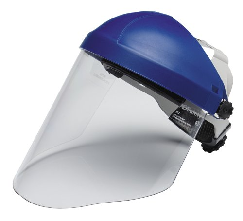 3M - 78371827837 Ratchet Headgear H8A, 82783-00000, with Clear Polycarbonate Faceshield WP96