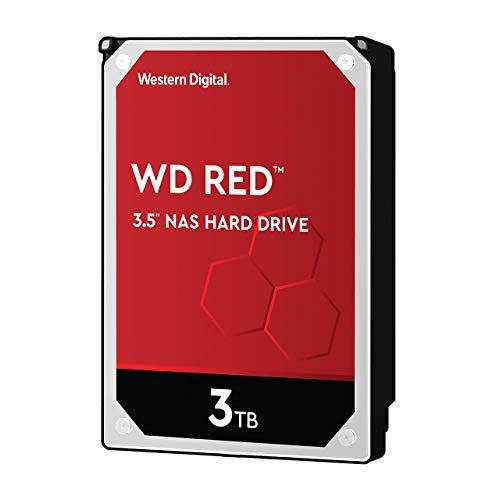 Western Digital 3TB WD Red NAS Internal Hard Drive HDD - 5400 RPM, SATA 6 Gb/s, SMR, 256MB Cache, 3.5' - WD30EFAX