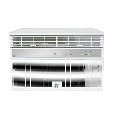 GE AHY10LZ Smart Window Air Conditioner with 10,000 BTU Cooling Capacity, Wifi Connect, 115 Volts, White