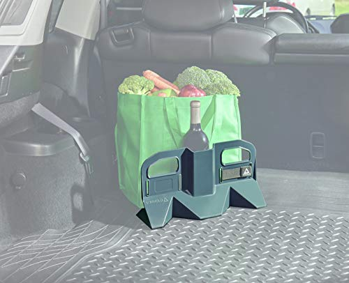 Stayhold Rubber Medium Trunk Organizer for Car, Truck, SUV – Space Saving Multipurpose Cargo Containment System – Grips Rubber Floor Liners