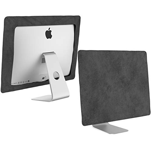 Kuzy Compatible with iMac 27 inch Dust Cover Release 2020 2019 2017 Models A2115 A1862 A1419 A1312 Retina 5K 4K Computer Monitor Dust Covers Screen Protector, Gray
