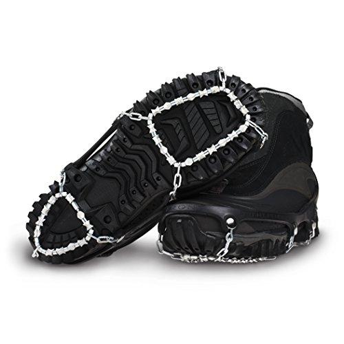 ICETrekkers Diamond Grip Traction Cleats (1 Pair), X-Large (Men's 13)