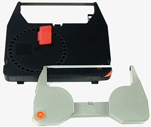 GRC Compatible IBM Wheelwriter Typewriter (3) Black Correctable Ribbons and (3) Correction tapes