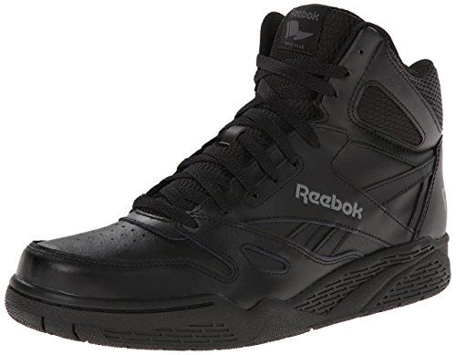 Reebok Men's ROYAL BB4500H XW Fashion Sneaker, Black/Shark, 10 4E US