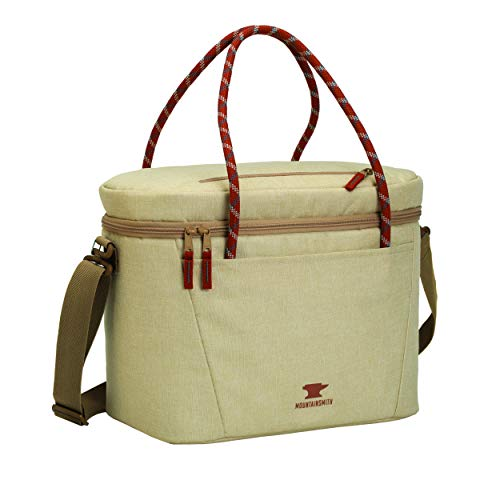 Mountainsmith Cooler Cube: Soft Sided Cooler, Light Sand