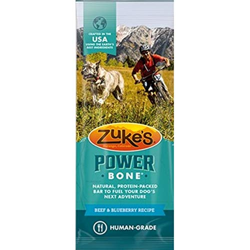 Zukes Power Bone - Beef & Blueberry Recipe (5 Pack)