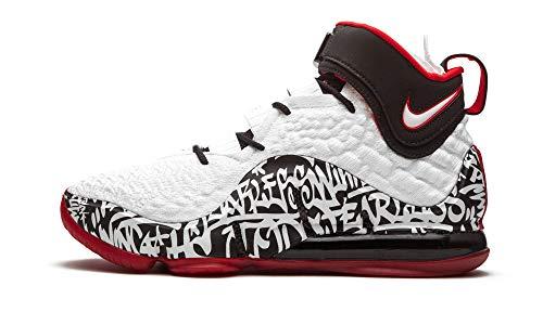 Nike Men's Shoes Lebron 17 Lebron 4 Graffiti CT6047-100 (Numeric_7_Point_5)