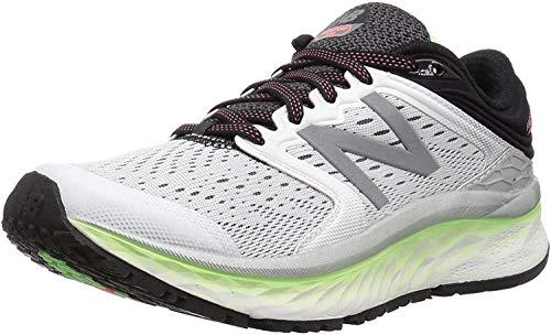 New Balance Women's Fresh Foam 1080 V8 Running Shoe, White/Blue, 55 N US