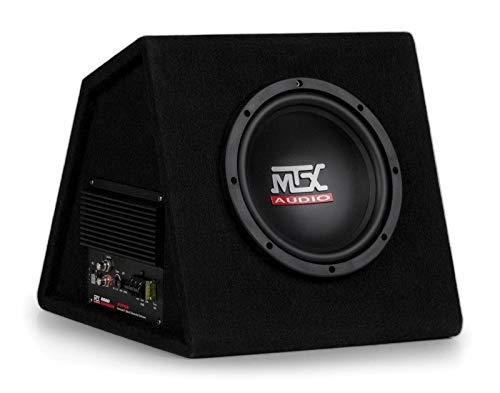 MTX AUDIO RTP8A 8' 120W Car Loaded Subwoofer Enclosure Amplified Box Vented