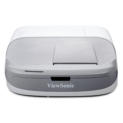 ViewSonic 1080p Projector Ultra Short Throw with RGB Rec 709 100,000:1 and Low Input Latency for Gaming, Watch Netflix with Dongle (PX800HD)