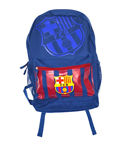 FC Barcelona backpack school mochila bookbag cinch shoe bag official (Blue)