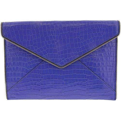 Rebecca Minkoff Leo Clutch Bright Blue One Size