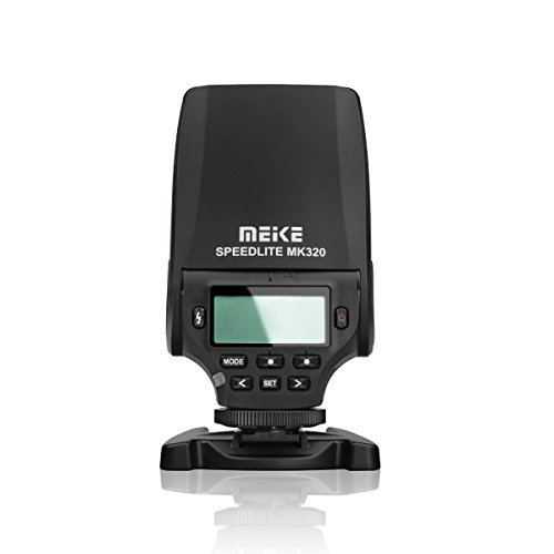 MEIKE 320S Mini TTL Speedlite Automatic Flash for Sony MI Hot Shoe DSLR and Mirrorless Cameras A7 A7II NEX6 A6000 A6300 A6500