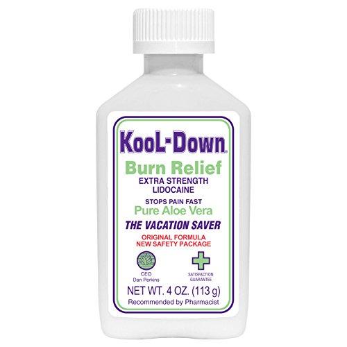 Kool-Down (4 oz) 3.9% Lidocaine Pain Relief Cream