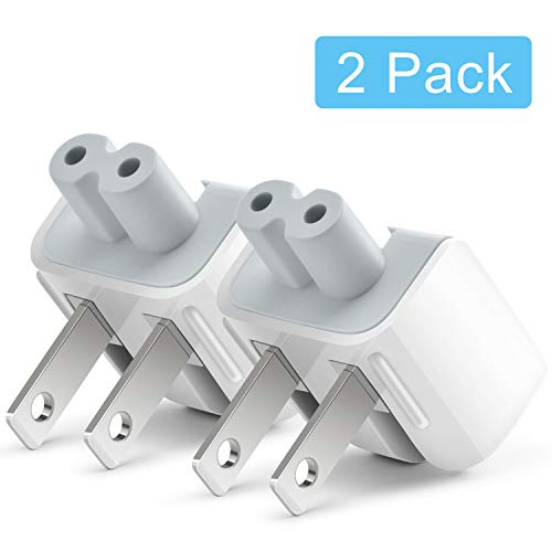 Mac AC Power Adapter Plug Duck Head US Wall Charger AC Cord US Standard Duck Head Compatible with Mac Book/Mac iBook/iPhone/iPad/iPod AC Power Adapter Brick