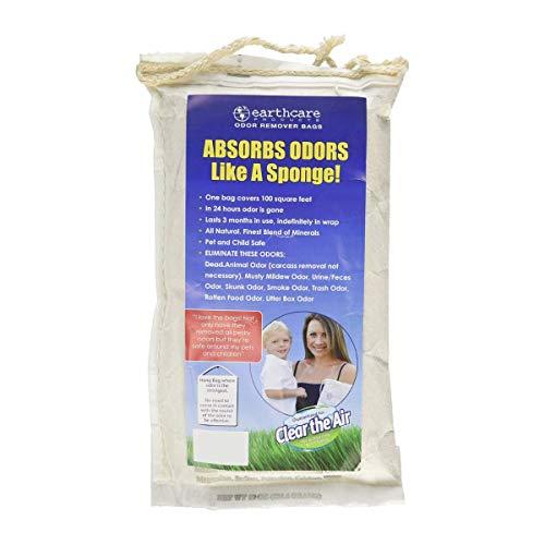 Odor Removing Bag 19 Ounces, White