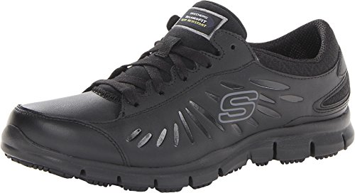 Skechers Work Eldred - Relaxed Fit Black 9 B (M)